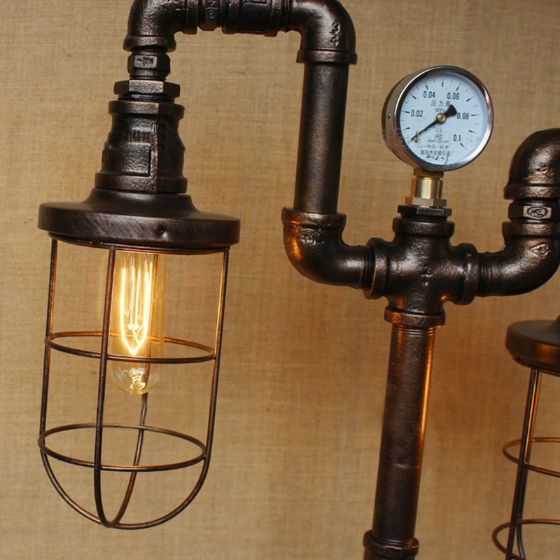 Water Pipe Table Lamps 16