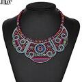 4 Colors Vintage Ethnic Choker Necklace Bohemian Woven Bib Necklace & Pendants Romantic Collier Women JURAN Fashion Jewelry
