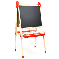 Topbright Multifunction Lifting Drawing Board Educational Kids Toy Blackboard/Whiteboard Detachable Toy Sports