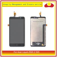 ORIGINAL For Acer Liquid Z520 Z 520 LCD Display With Touch Screen Digitizer Sensor Panel Complete Assembly