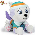 AUTOPS 20cm Plush Patrol Everest Dog Toys Dolls Anime Dolls Action Figures Patrol Puppy Toy Patrulla Canina Gift for Child