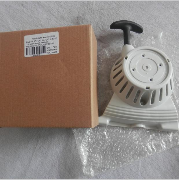 RECOIL STARTER ASSEMBLY FOR FC FS BT KM FR HL HT 87  90 95 100 101  110 130  SERIES  BLOWER WEEDEATER REPL. #4180 190 4000 бензобур stihl bt 130