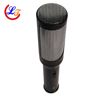 Professional Condenser Microphone Gun Type Handheld Interview Microphones Cardiod Microfone for Video Camera Equipments