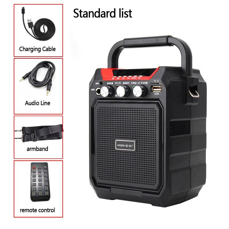 Haute Puissance S15 Mini Portable bluetooth sans fil Audio Portable Haut-Parleur Extérieur Bass Player Support TF Carte USB Jouer Colonne