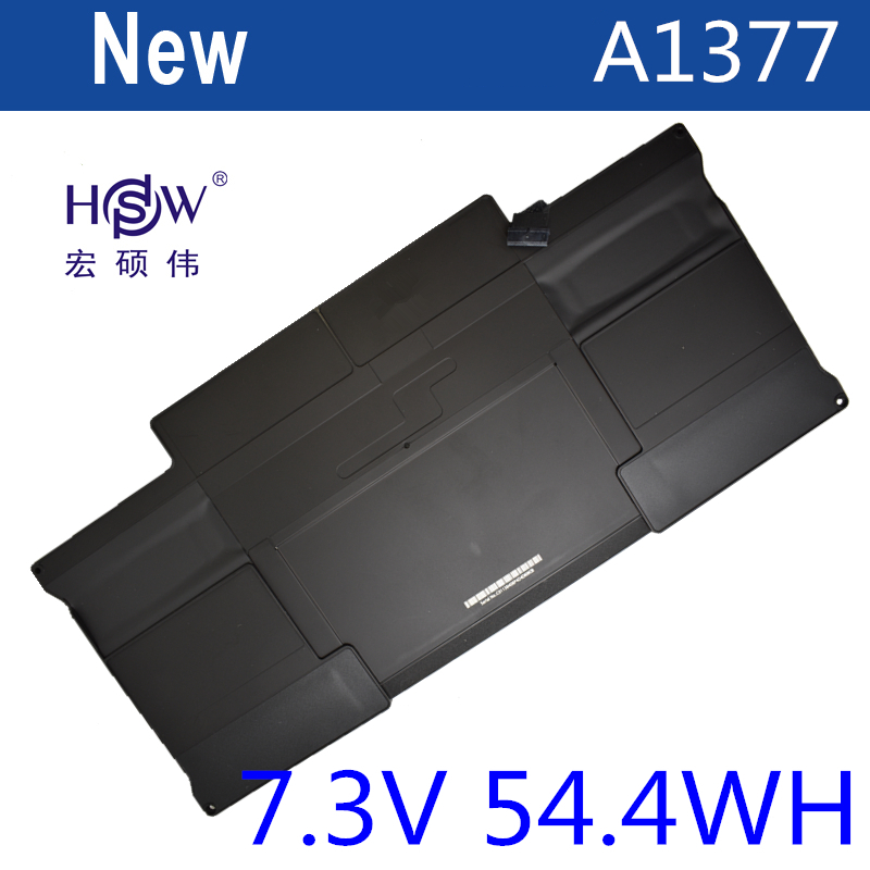 HSW laptop battery for APPLE FOR Macbook Air 13 Series 2010 Version A1369(2010 Version) A1377 020-6955-B bateria akku free shipping new genuine 12 a1534 laptop a1527 battery for apple macbook air 12 inch a1527 battery a1534 2015 7 55v 40 28wh