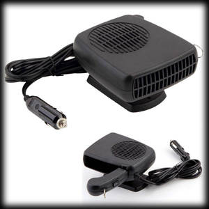 100 pcs 2 in 1 & Cold 12 V Car Auto Vehicle Portable Ceramic Heater Heating Cooling