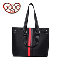 Women Korean Version Of The Waterproof Oxford Shoulder Bag Wild Hit Color Handbag Water Repellent File