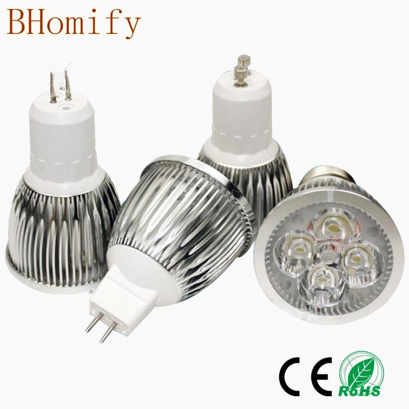 <font><b>LED</b></font> High Power <font><b>Lampada</b></font> <font><b>LED</b></font> spotlight GU10 E27 E14 <font><b>led</b></font> bulbs Dimmable <font><b>9W</b></font> 12W 15W <font><b>Led</b></font> Lamp light MR16 AC&#038;DC 12V GU5.3 AC110V 220V