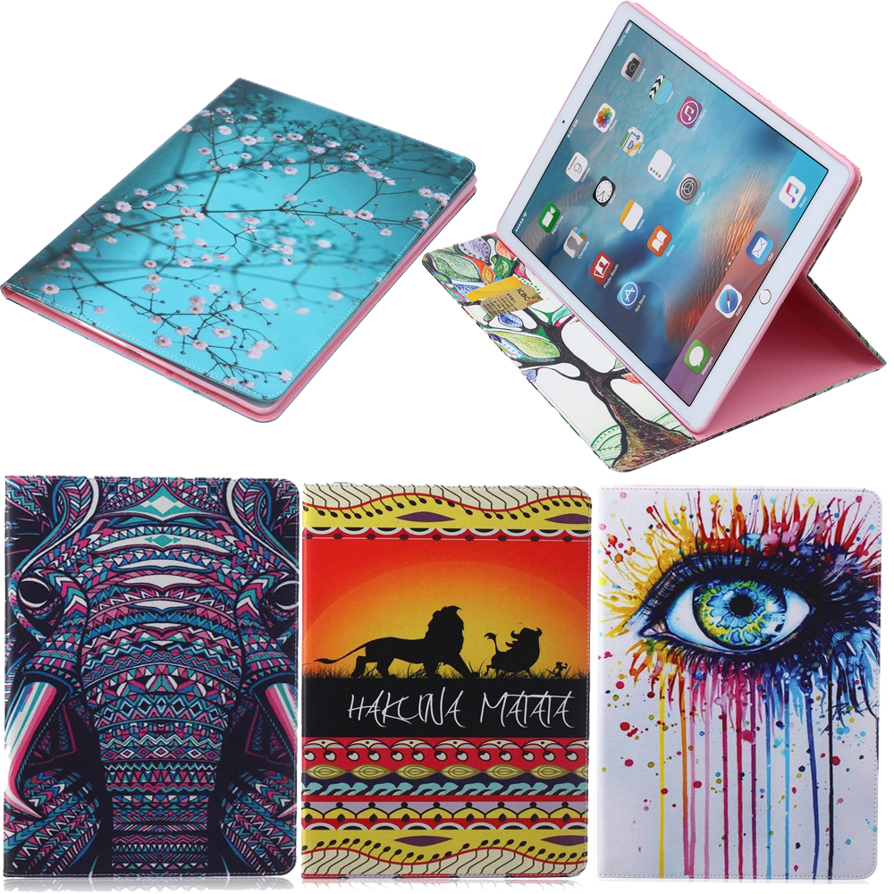 Animal Designs Pu Leather Case For Apple Ipad Pro 12.9 Stand Smart Cover Luxury Colorful Cartoon Flip Protective Case For Ipad designs for health prenatal pro essential packets 60 pkts