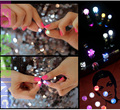 Fashion Light Up LED Earrings Studs Flashing Blinking Stainless Steel Earrings Studs Dance Party Accessories JEW01125