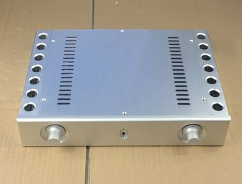 BZ3206A Silver all aluminum chassis preamp / DAC / Integrated Amplifier chassis /AMP Enclosure /case/DIY box (321*62* 230mm)