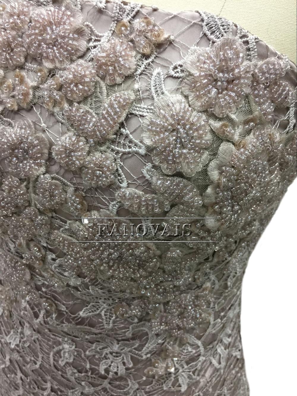 Elegant Strapless Lace Коктейльные көйлек Long Coat - Ерекше жағдай киімдері - фото 6