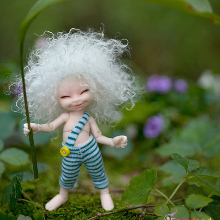 1/6 scale nude BJD Cute kid girl YOSD Joint doll Resin