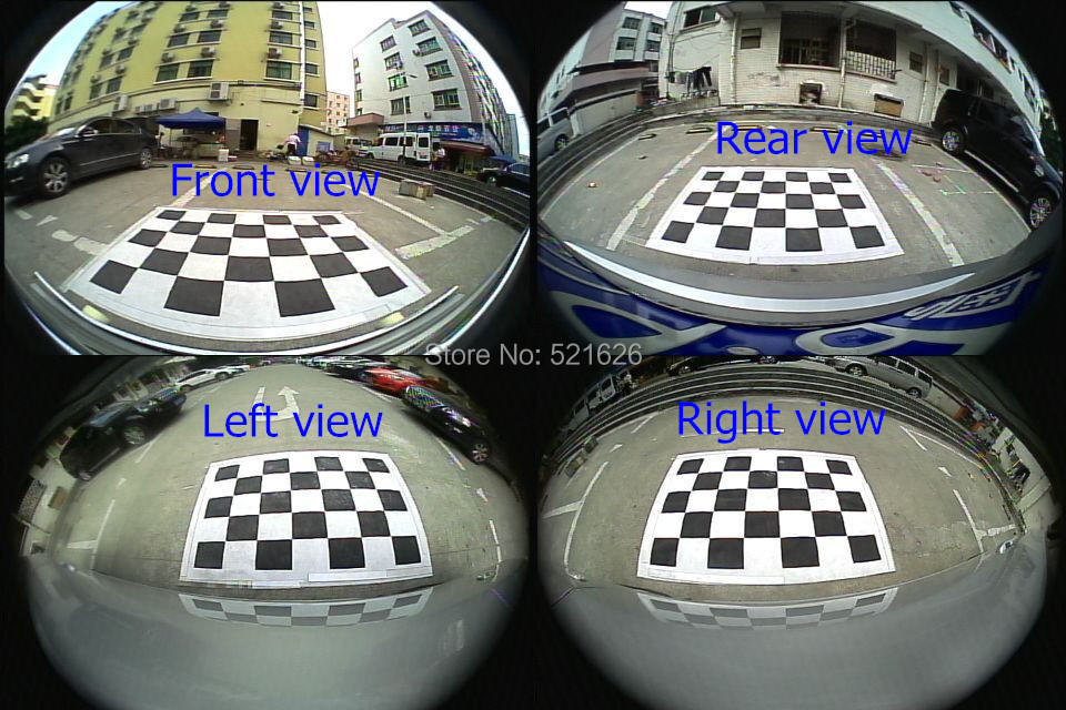 Special 360 Degree bird View Car Monitor System Panoramic View