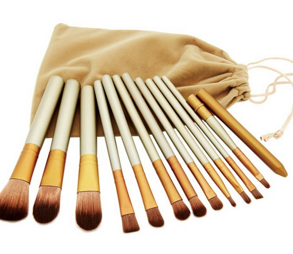 цены  by DHL or EMS 100pcs TGF Brand new makeup brushes,12 Pcs Brush kit Sets for eyeshadow blusher Cosmetic Brushes Tool