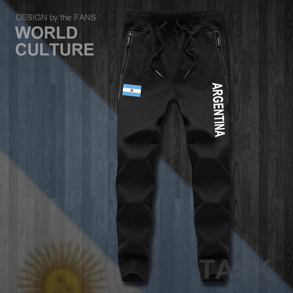 Argentina Argentine AR Mens Pants Joggers Jumpsuit Sweatpants Track Sweat Fitness Fleece Tactical Casual Nation Country Leggings