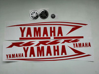Sticker for Yamaha R6 Decal Pack Set Stickers Motorcycle Bike Replacement Refresh Kit red color