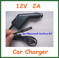 12V 2A Car Charger for Microsoft Surface RT 10.6 Tablet PC Power Supply Adapter High Quality