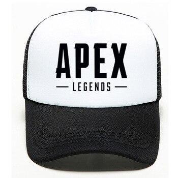 100pcs/lot Baseball Cap Game Print Black Cotton High Quality Cool Adjustable Hat Unisex Hip hop Caps Apex Legends 1