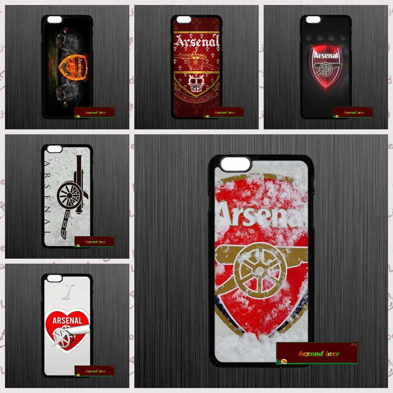ca1f83f7eb2 ARSENAL FC FOOTBALL CLUB GUNNERS Cover case for iphone 4 4s 5 5s 5c 6 6s