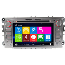 Free Shipping Free Map Wince 8 0 7 inch Car DVD GPS For Ford Focus Mondeo
