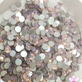 Free Shipping Nail Art Rhinestone Opal white Color SS6(1.9-2.0mm) 1440pcs/pack Non Hotfix Flatback Crystal Stones
