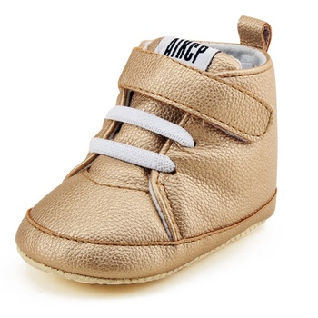 Infantil Spring/Autumn Baby Girl Shoes Buckle PU Baby Shoes Newborn Shoe Soft Infants Crib Sneakers First Walkers New Baby's First Walkers