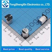 10pcs/lot 8×10.2mm SMD Aluminum Electrolytic Capacitor 6.3v 10v 16v 25v 400v 50v 330uf 470uf 1000uf 220   Electrolytic Capacitor