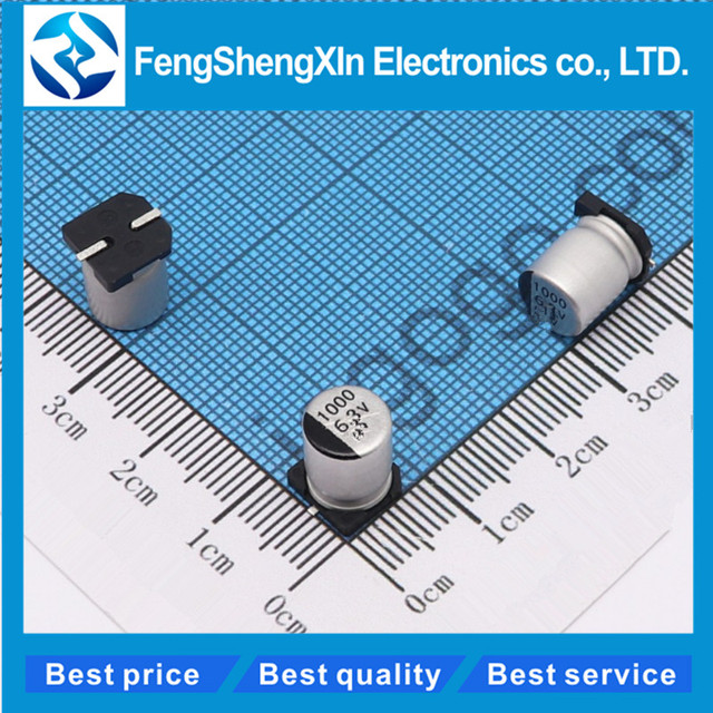 US $1 89 5% OFF|10pcs/lot 8x10 2mm SMD Aluminum Electrolytic Capacitor 6 3v  10v 16v 25v 400v 50v 330uf 470uf 1000uf 220 Electrolytic Capacitor-in