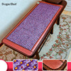 Healthcare Korea Crystal Jade Beauty Mat Germanium Tourmaline Jade Mattress Electric Heating Therapy Massage Pad Free