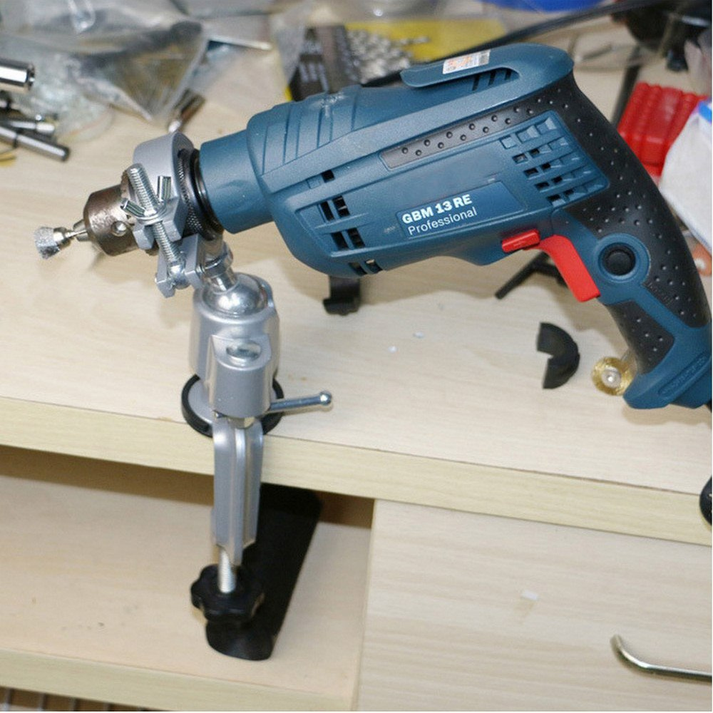 Table Vise Bench Clamp Vices Grinder Holder Drill Stand For Rotary Tool, Craft, Model Building, Electronics, Hobby Tools