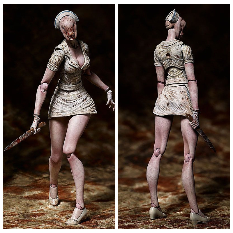 Able Game Silent Hill 2 Bubble Head Nurse Sp061 Pvc Action Figure Doll Model Toy Soft And Antislippery Toys & Hobbies