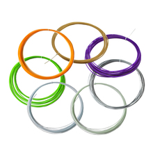 20pcs ABS 3D Print Filament 1.75mm 5M Different Colors For 3D Printer or Pen almost  gift for kids material
