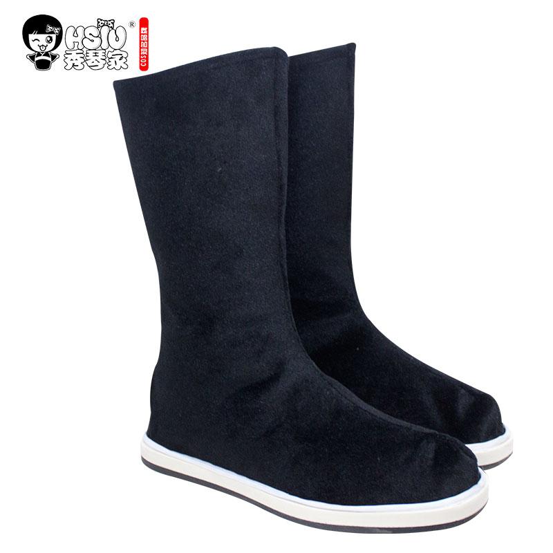 HSIU Wei Wuxian Lan Wangji Botas Cosplay Mestre Demoníaco Cultivo Cosplay Shoes Botas Shi Zu Dao Mo na antiga traje