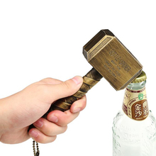 Beer Bottle Openers Hammer of Thor Shaped Bottle Opener Wine Corkscrew Beverage Wrench Openers For Dinner Party Bar