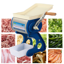 Мясорубка ручной для производства многофункциональная маленькая ломтерезка домашняя измельченная мясорубка машина