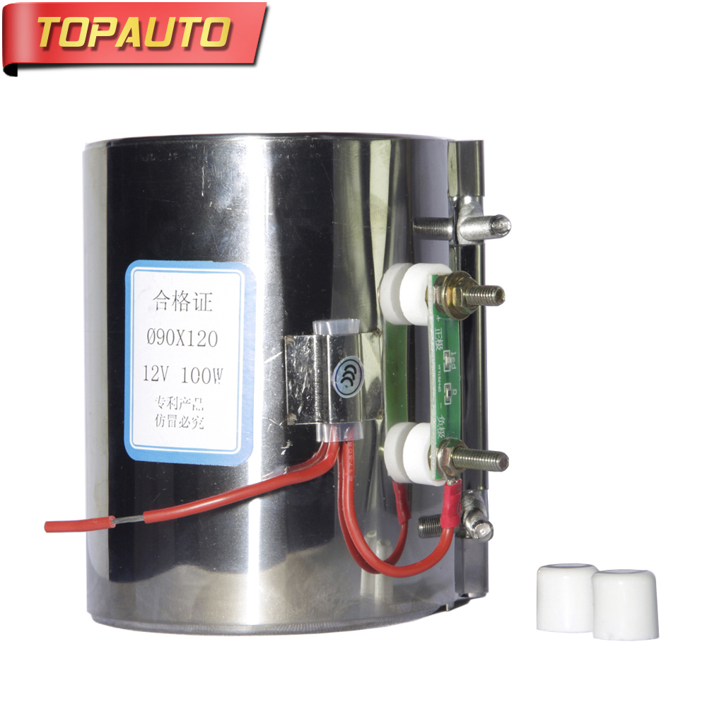 TopAuto 12V 24V Electric Heating Ring Heater For Car Diesel Pump Oil Filter Air Parking Heater Webasto Truck Bus Caravan Boat