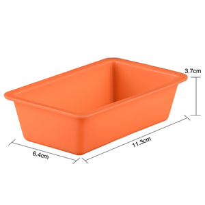 Image 4 - Silicone Cake Mould Silicone Baking Mold Soap Mould Shaped Nonstick Toast Mold for Bread Chocolate Cake Baking (Random Color)