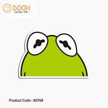 A0768 sticker frog joker kame turtle cute green waterproof suitcase laptop guitar luggage DIY skateboard bicycle toy HZ 30(China)