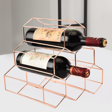 Nordic Simple Wine Rack Ornament Creative Honeycomb Decor Storage Home Decoration Accessories Display CabinetGift