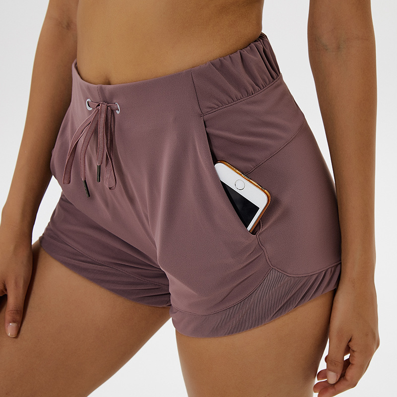 NWT 2020 Tummy Control Yoga Shorts Capris for Women with Phone Pockets Workout Running Sports Shorts with Pockets