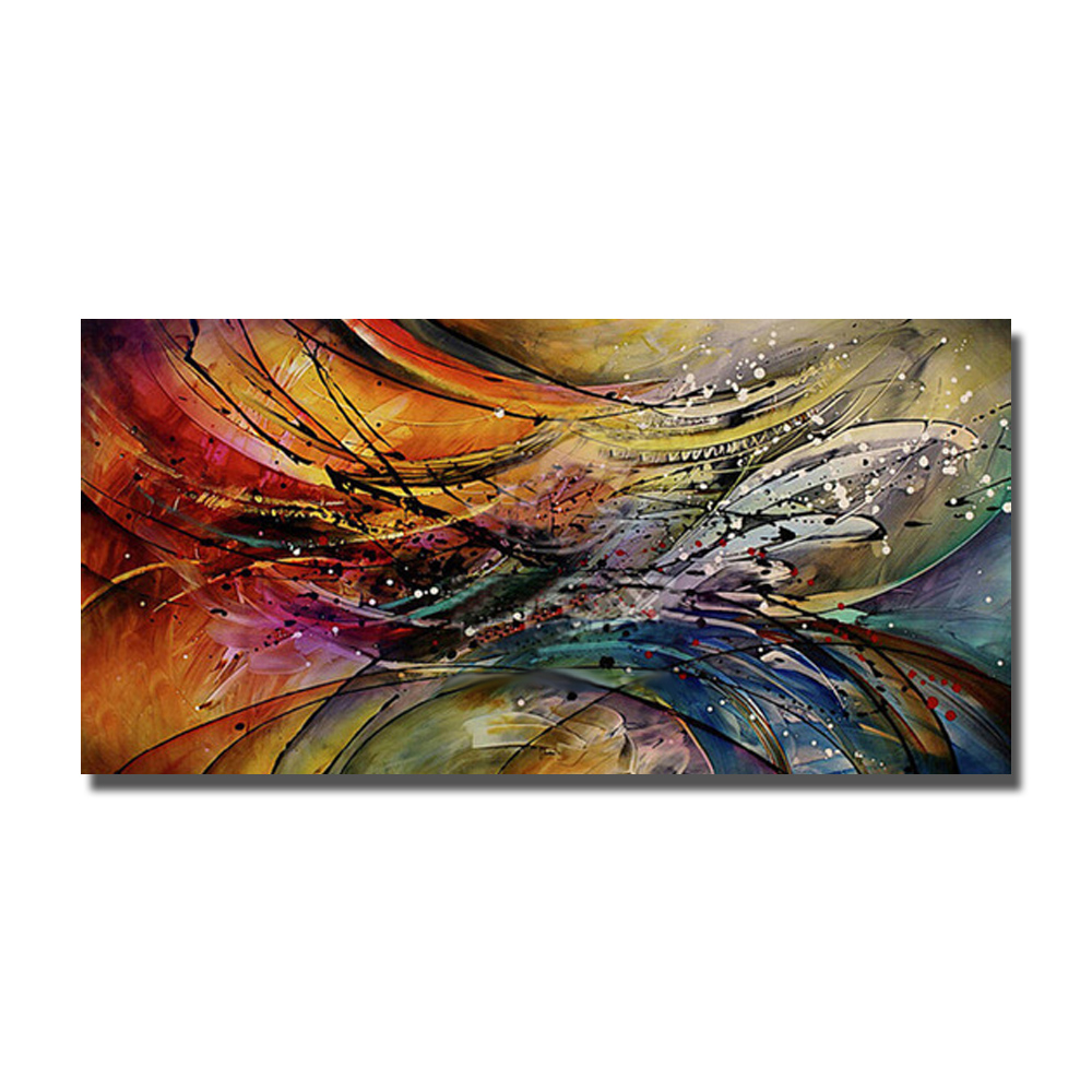Aliexpress Buy Modern Paintings For Living Room Wall Pretty Abstract Oil Painting On Canvas Handpainted Pop Art Pictures Large Size From Reliable