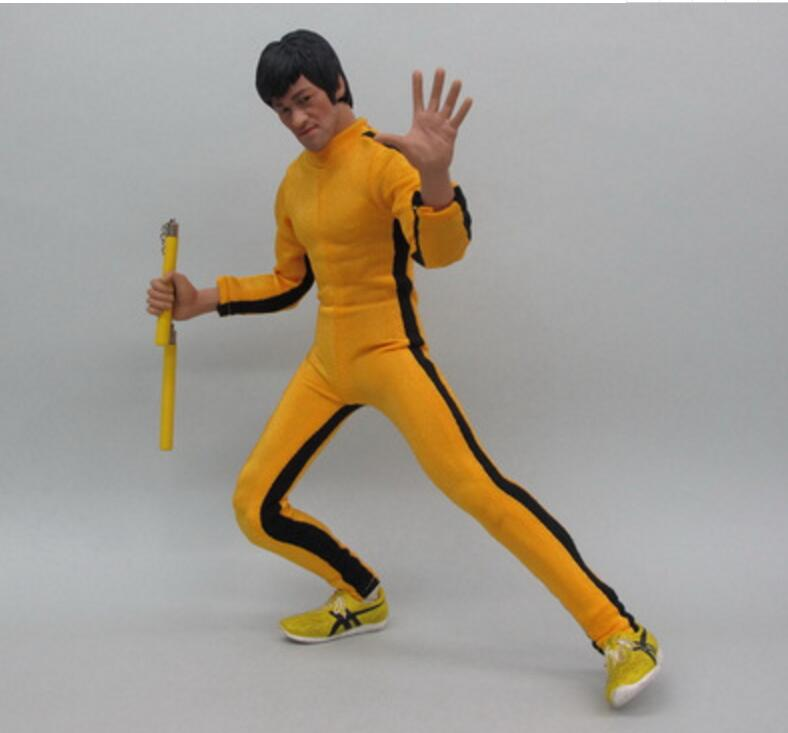 Round 5 Bruce Lee 5 Inch Vinyl Figure Game of Death Bruce Lee Yellow Suit