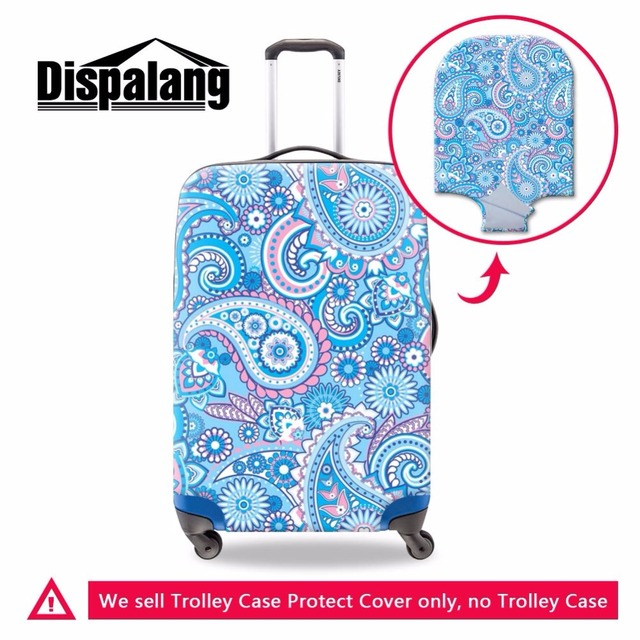Flower Printed Luggage Cover for Girls Fashion Floral Waterproof Covers for  Suitcase Nice Accessories for Travel Luggage Protect a541d9744d211