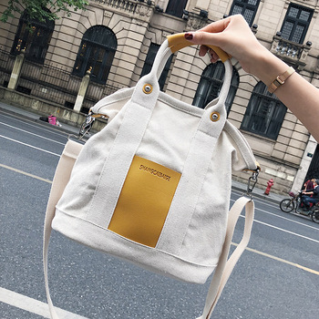2019 Casual Tote Bags For Women Designer Large Shopping Handbags Fashion Lady Canvas Leather Capacity Bags Female Crossbody bag tote bag