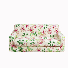 Green and red plant 1/2/3/4 seater sectional sofa cover cool fresh all-inclusive stretch universal sofa protector make up floral