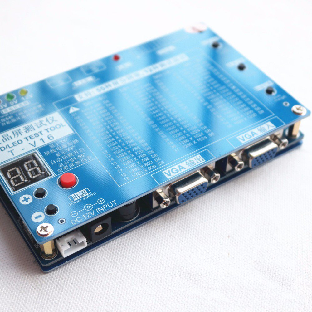 Laptop TV/LCD/LED Test Tool LCD Panel Tester Support 7 84\