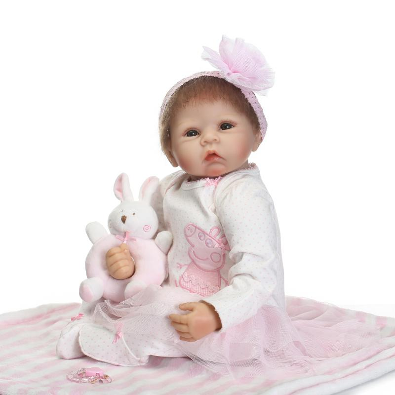 Newest NPK Girl Doll Bebe Reborn 22 Body Children Play Vinyl Toys Silicone Reborn Doll Baby Gift  Juguetes Brinquedos lifelike american 18 inches girl doll prices toy for children vinyl princess doll toys girl newest design