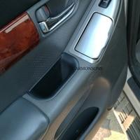 4 PCS for Toyota Land Cruiser Prado 2004-2016 Door Handle Armrest Storage Box Container Holder Tray Accessories Car Organizer