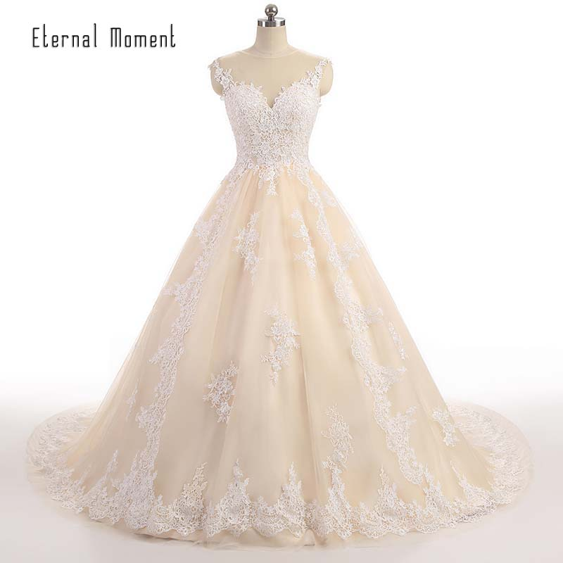 Luxury lace ball gown wedding dress 2017 off shoulder for Luxury ball gown wedding dresses